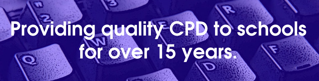 Providing cpd to schools for over 15 years